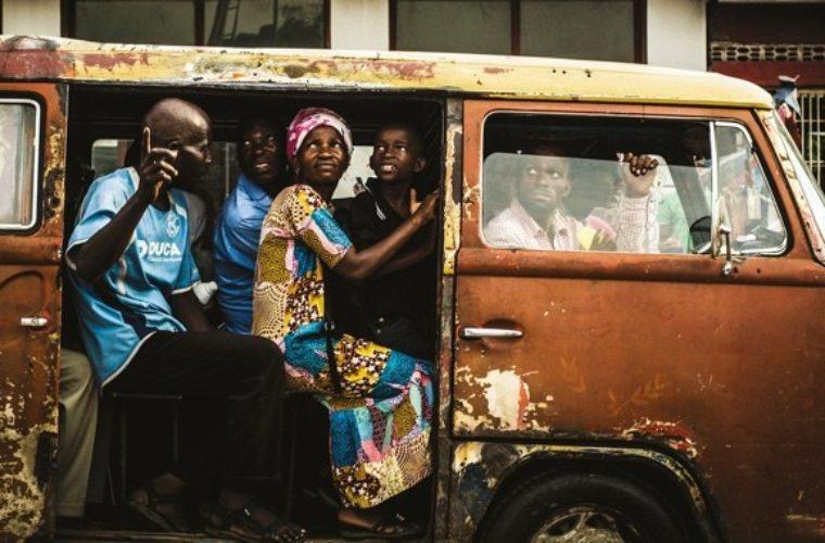Kinshasa. Always on the move