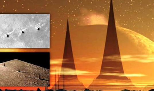 "MARS – NASA censors the images of the ""Alien Towers"" visible in the Terra Meridiani area"