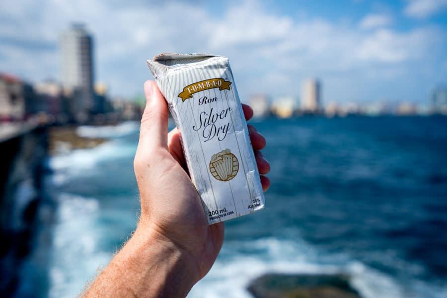 Make sure to try Havana's box rum