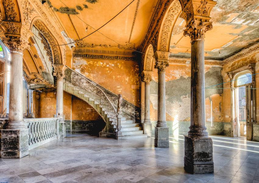 The Staircase at La Guarida Restaurant