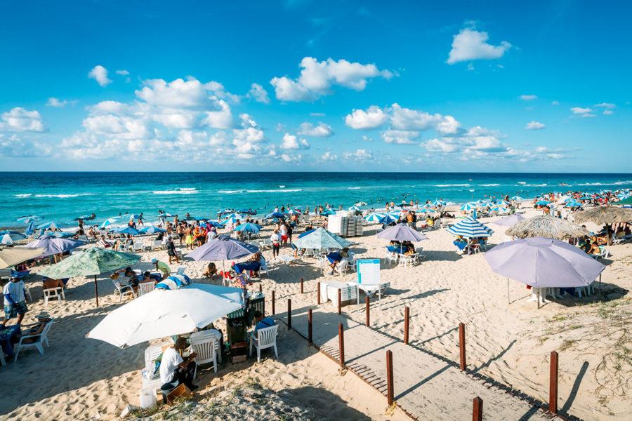 Beaches Outside Havana Cuba