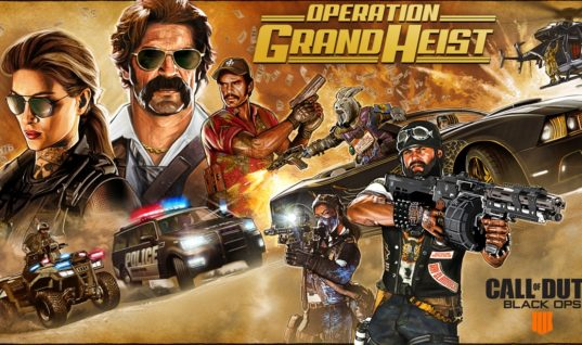Pick Your Side inOperation Grand Heist with a New Season of Content for Black Ops 4