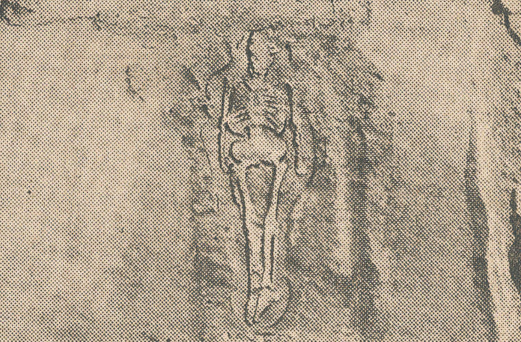 4 Giant Skeletons Discovered in Ohio. New York Times article from 1885