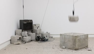 Using gravel, microphones and concrete to reexamine the myth of Sisyphus