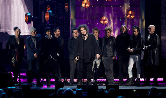 The Cure Inducted Into the Rock and Roll Hall of Fame