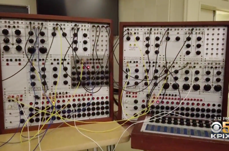 Sound Engineer Experiences 9-Hour Acid Trip while Repairing Iconic Synth from the '60s