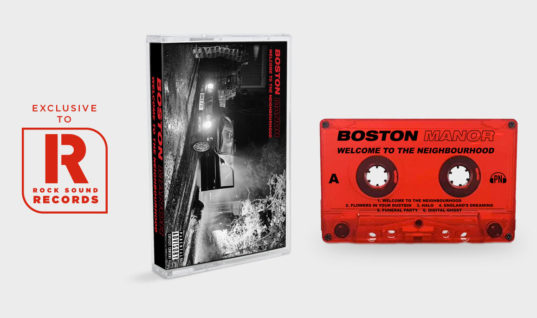 Get Your Boston Manor 'Welcome To The Neighbourhood' Cassette Exclusively From Rock Sound Records