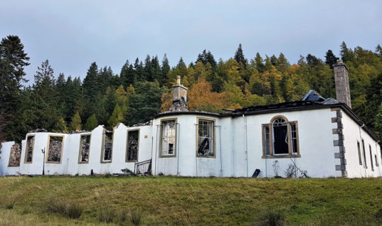 Ruins of Aleister Crowley's Cursed House on Loch Ness for Sale