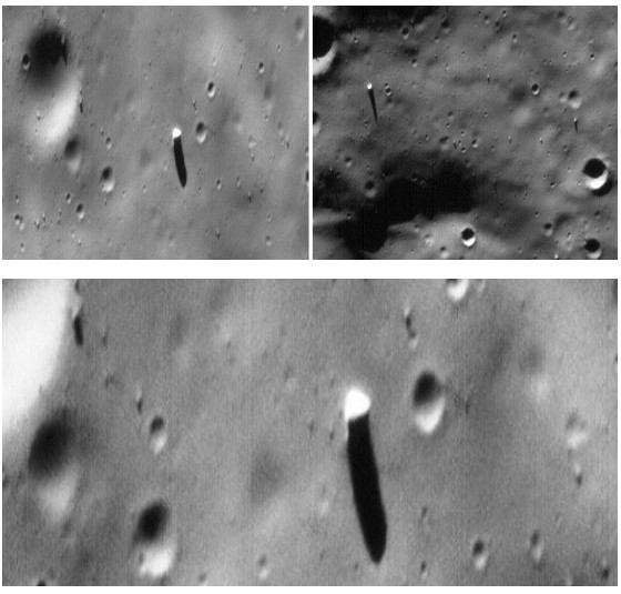 Extraterrestrial explorers allegedly built Monoliths on Mars and the Phobos Moon 36