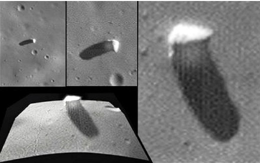 Extraterrestrial explorers allegedly built Monoliths on Mars and the Phobos Moon 35