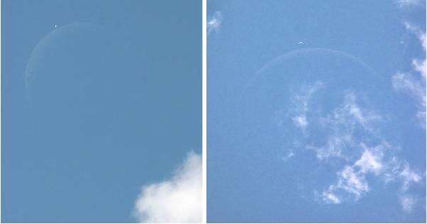 Amateur Photographer Claims He Captured Huge Planet Above Earth - Matrix Glitch? 37