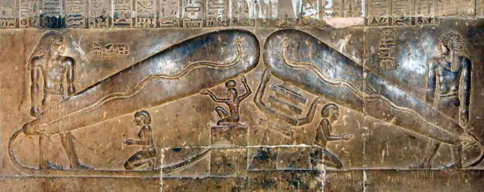 The Dendera Light Bulbs: electricity in ancient Egypt 75