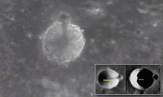 aliens present on the dark side of the moon