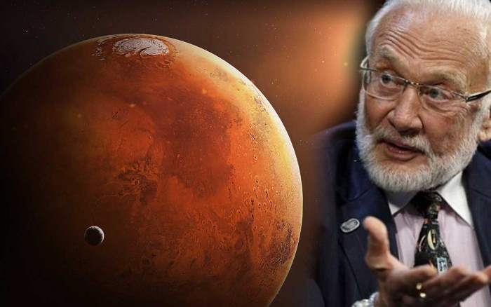 "Astronaut Buzz Aldrin declares: ""We must migrate to Mars as soon as possible"" 78"