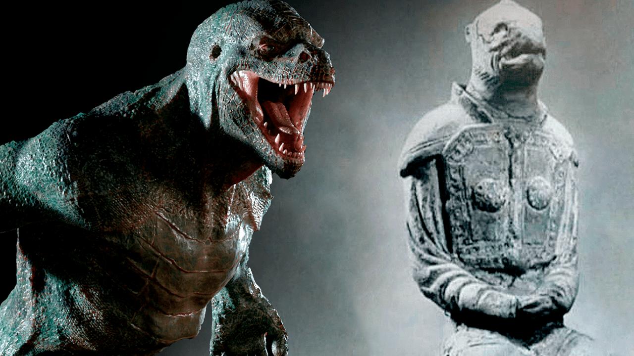 The story behind the reptilian statue of the Horyuji Nara Temple, Japan 40