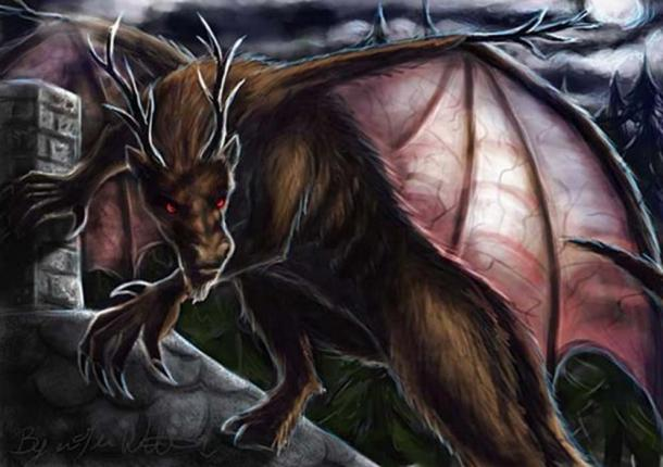 Jersey Devil. (pyro-helfier / Deviant Art)