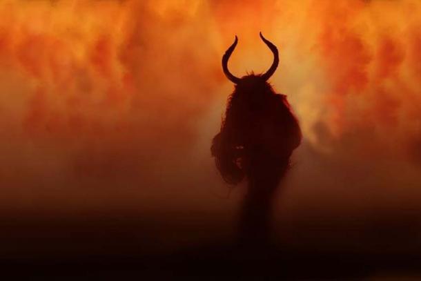 Krampus, the Christmas devil. (CC BY SA 2.0)