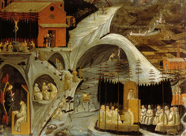 Enigmatic old paintings with images of UFOs 42