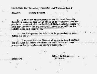 Image results for CIA, document, alien invasion, PSYCHOLOGICAL WARFARE