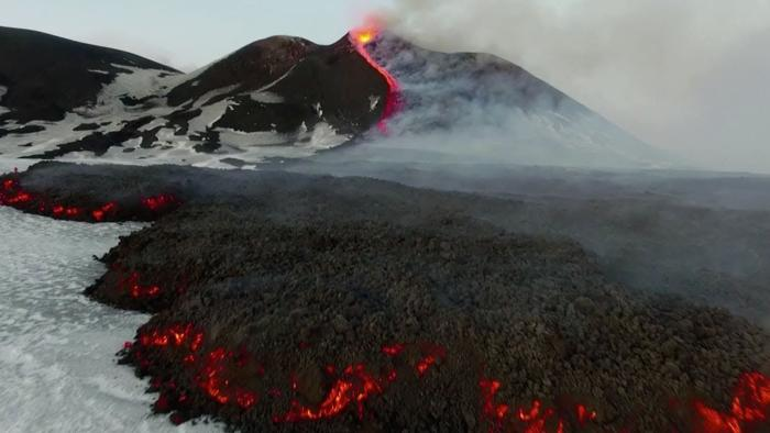 Etna volcano activity associated with the movement of the poles of the Earth 70