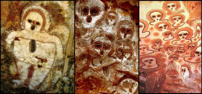 Enigmatic old paintings with images of UFOs 32