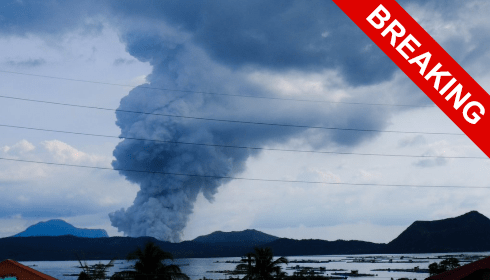 Live geological disaster: Taal volcano erupted in the Philippines 31