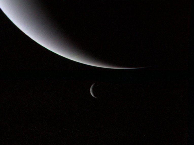Astronomers think of flying to giant ice planets 33