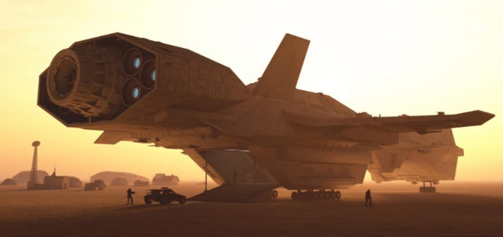 US Navy and NASA may have a fully operational fleet of Alien Technology space ships 32