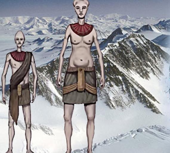 The mysterious alien skulls of Antarctica