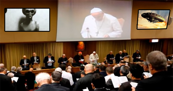 Conference on Alien Beings in the Vatican - This is what happened! 38