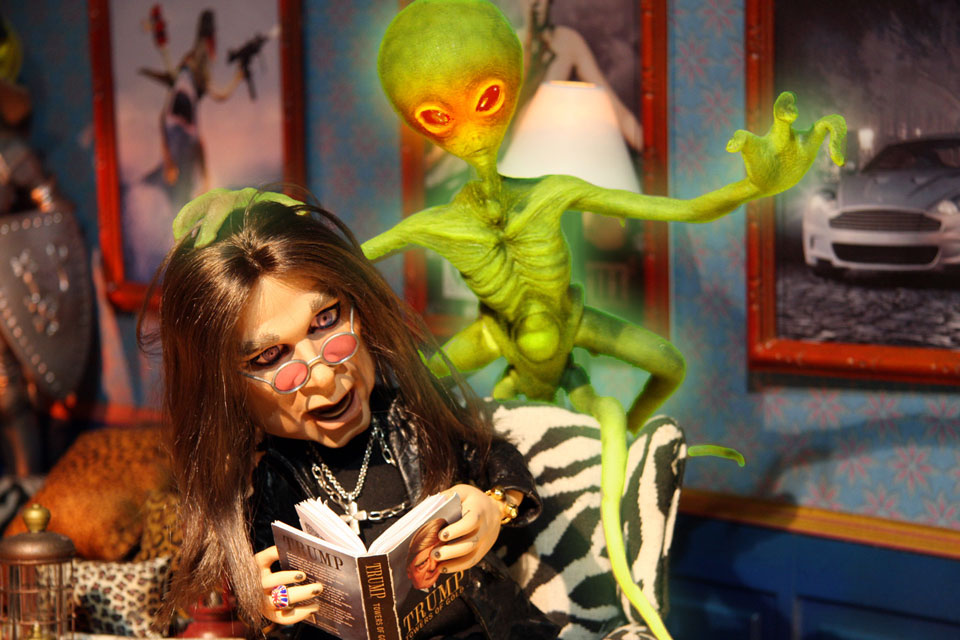 "Ozzy Osbourne says you have to be ""crazy"" to not believe in aliens 31"