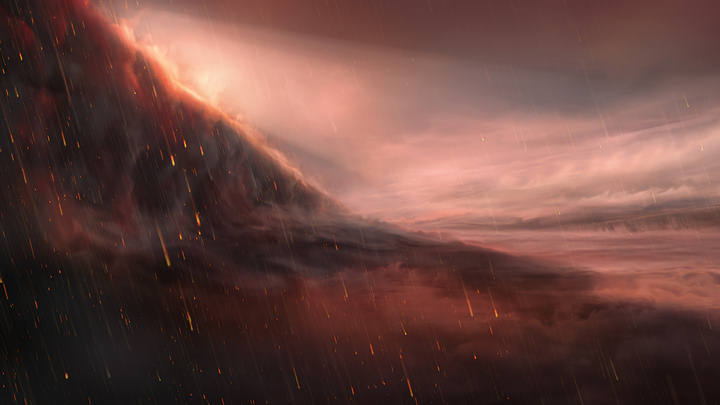Astronomers find a hellish planet where it rains iron 40