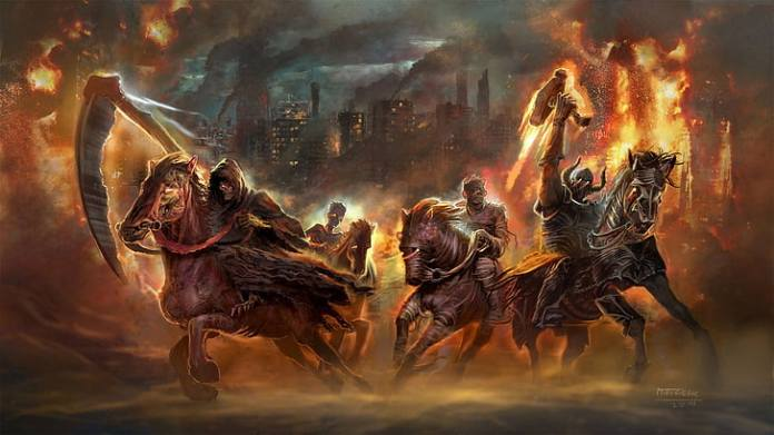 The prophecy of the Knights of the Apocalypse has begun, biblical groups say