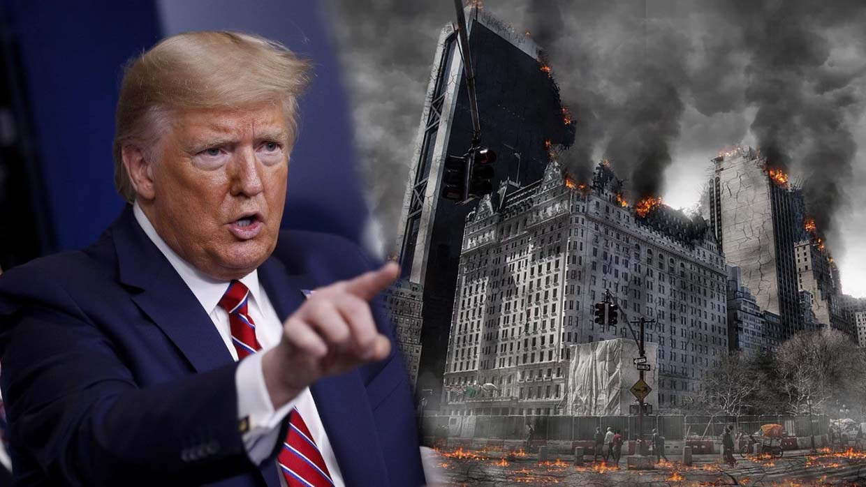 Donald Trump predicted in 2014 the current economic collapse and social unrest around the world 31