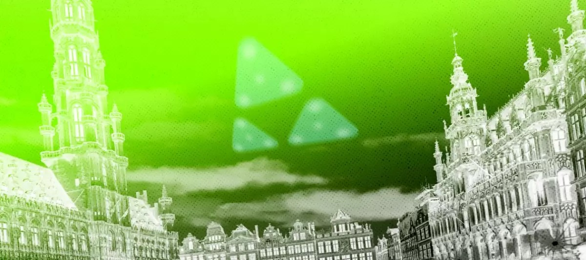 What happened during the wave of triangular UFOs from Belgium? 31