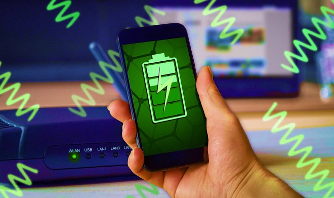 A graphene device will collect the energy of Wi-Fi signals to recharge gadgets 31
