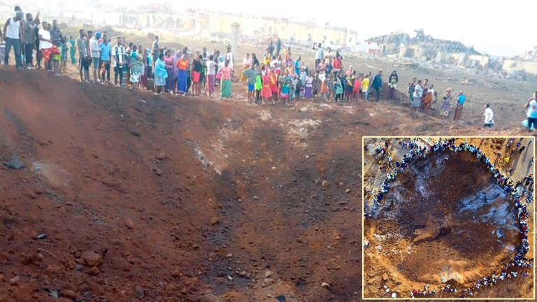 Why is no one talking about the asteroid attack on March 28 in Nigeria? 33