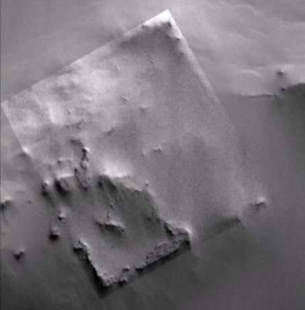 "NASA discovers an ""Archaeological Site"" on Mars thanks to photographs of the MGS probe 35"