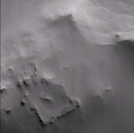 "NASA discovers an ""Archaeological Site"" on Mars thanks to photographs of the MGS probe 43"