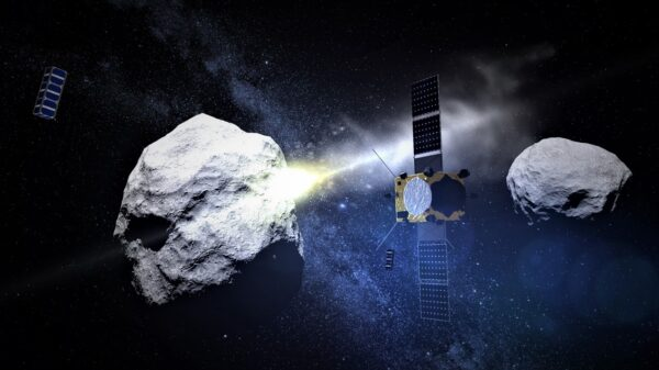 "An asteroid that nobody saw coming ""almost"" hits our satellites 57"