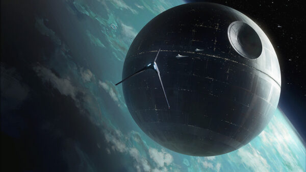 Why does a Death Star hang on the Moon? 83