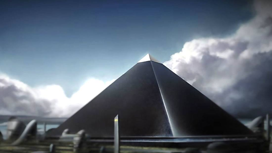 "Black pyramid: a mysterious discovery in Egypt ""disappeared"" 31"