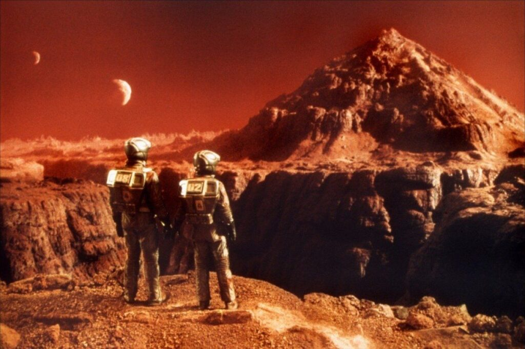 Where can people live on Mars? 31