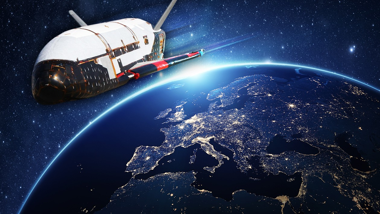 The mysterious space plane leaves for a secret mission 31