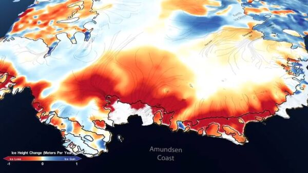 NASA map shows how much ice Antarctica and Greenland lost in 16 years 43