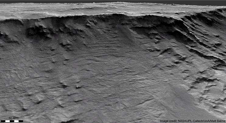 New images show the channels of ancient rivers on Mars 31