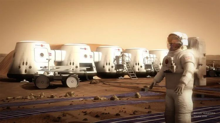 Where can people live on Mars?