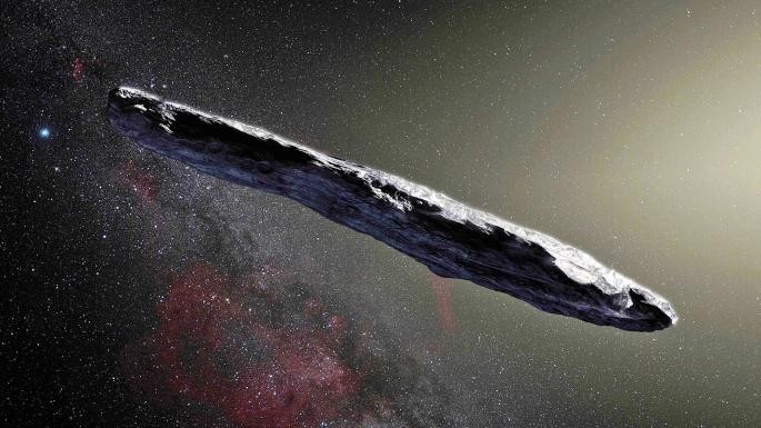 The mysterious object of Oumuamua could be an alien spaceship (photo) 32