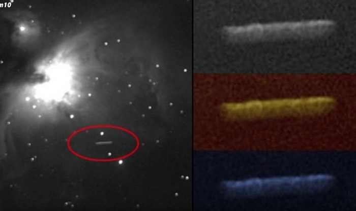 The mysterious object of Oumuamua could be an alien spaceship (photo) 36
