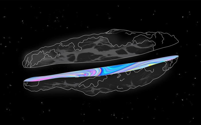 The mysterious object of Oumuamua could be an alien spaceship (photo) 33
